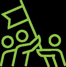Rejoindre les bénévoles de généractions77 c'est effectuer un pas vers l'insertion professionnelle