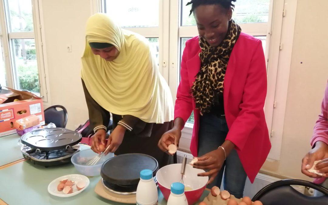 Solidarité et lutte contre le gaspillage alimentaire : Crêpes party